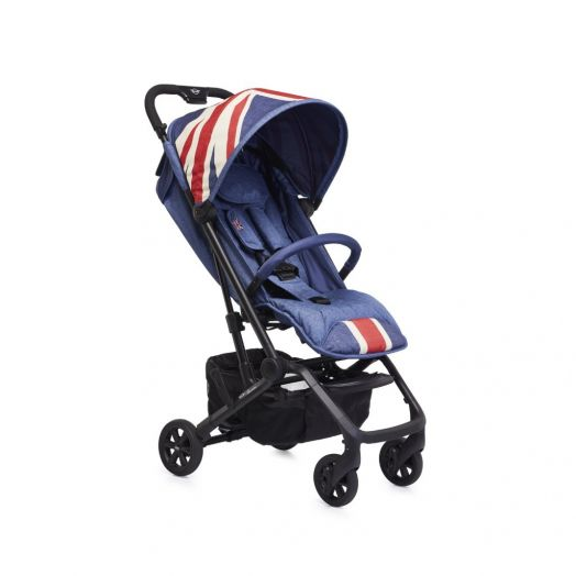 EMX10001 Carucior MINI Buggy XS Union Jack Vintage Easywalker Denim