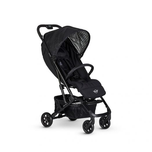 EMX10005 Carucior MINI Buggy XS Oxford Black Easywalker Negru