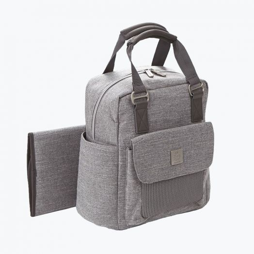 ER20088 Rucsac Take A Long Grey Sport Ergobaby Crem